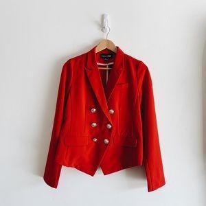 Hillary Red Suit Coat / Blazer